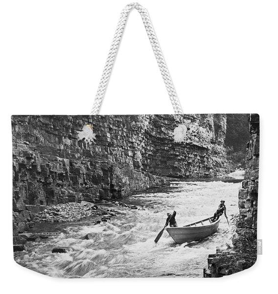 Ausable River Rapids Weekender Tote Bag