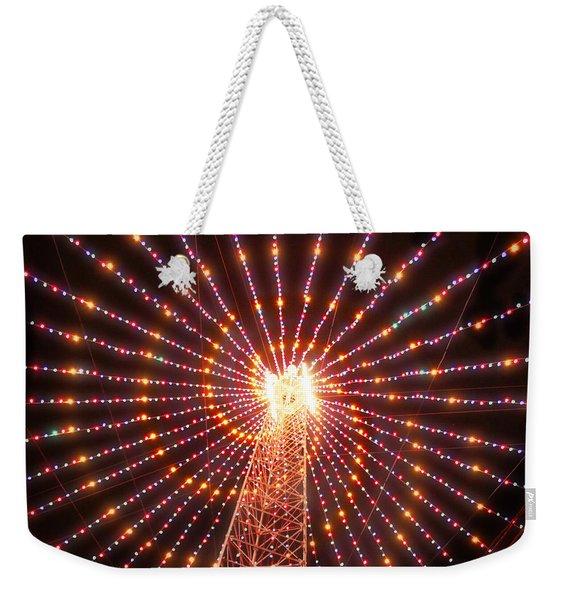 Austin Texas Trail Of Lights  Weekender Tote Bag