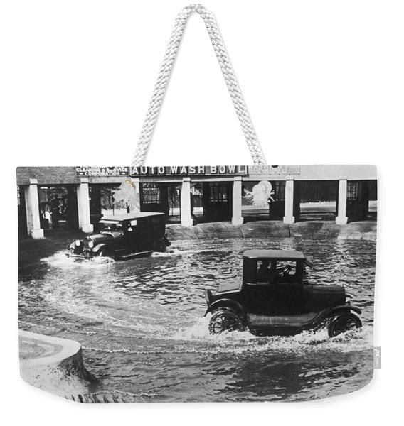 Auto Wash Bowl Weekender Tote Bag