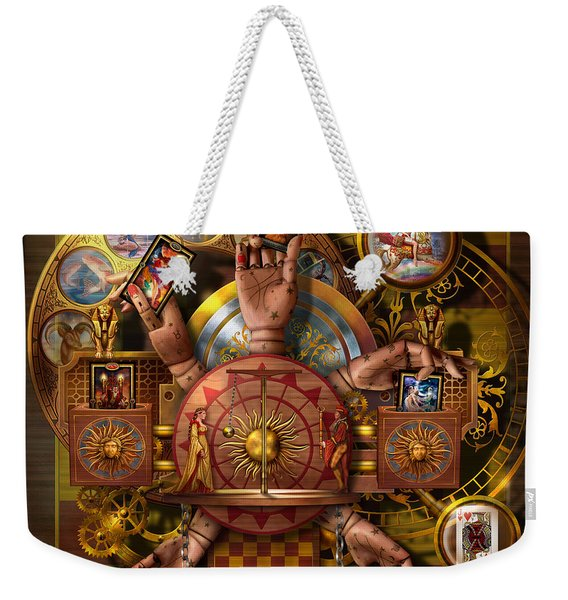 Automatic Card Reading Machine Weekender Tote Bag