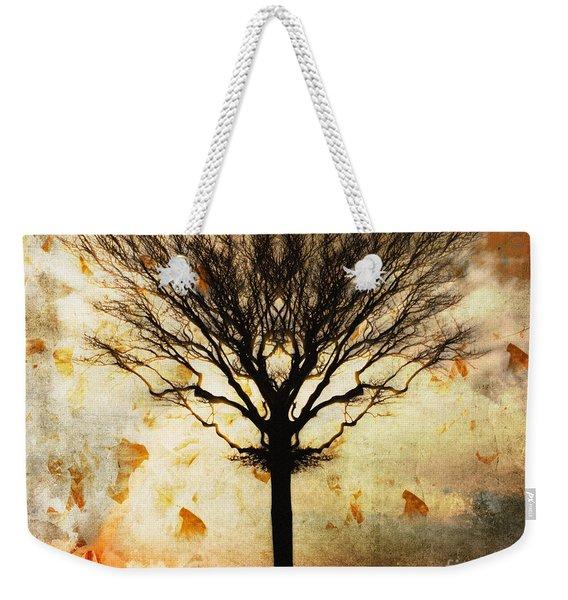 Autum Wind Weekender Tote Bag