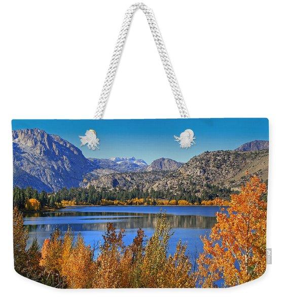 Autumn At June Lake Weekender Tote Bag