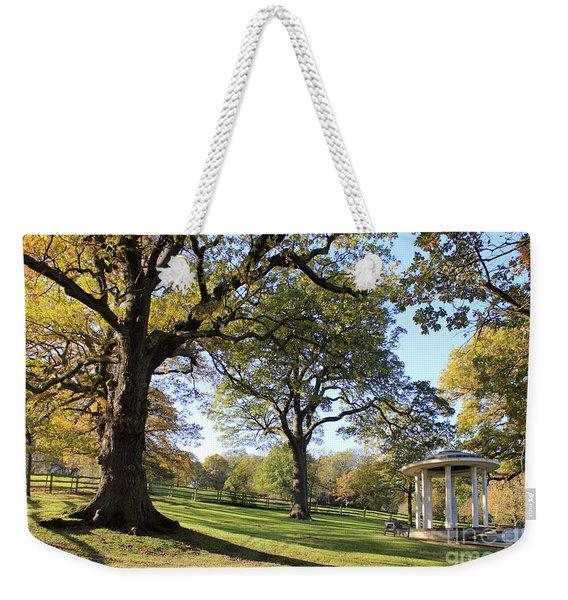 Autumn At Runnymede Uk Weekender Tote Bag
