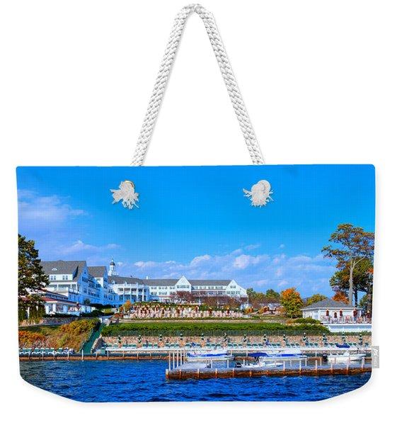 Autumn At The Sagamore Hotel - Lake George New York Weekender Tote Bag