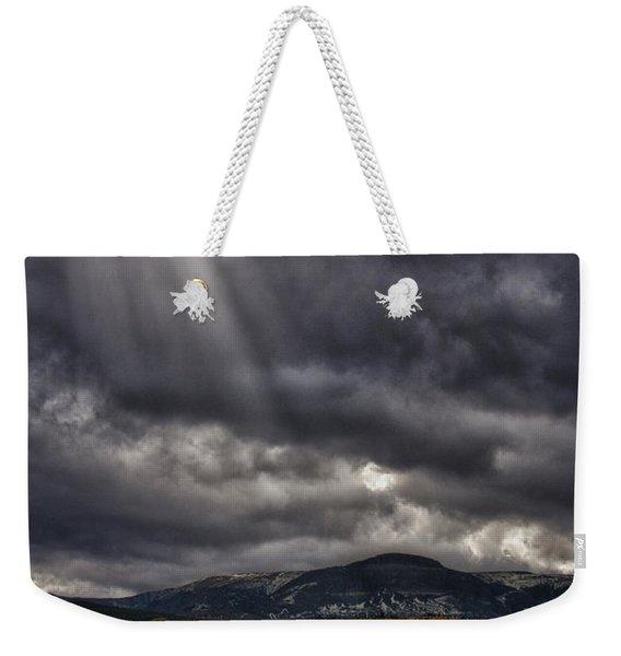 Autumn Beams Weekender Tote Bag