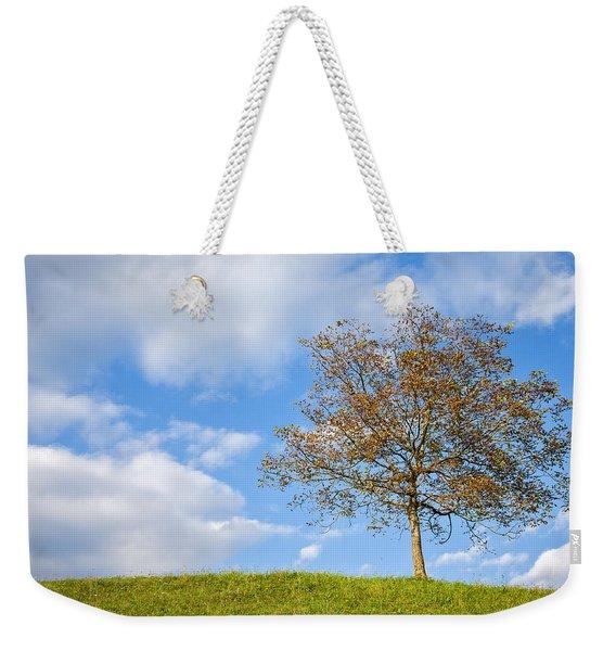 Autumn Begins Weekender Tote Bag