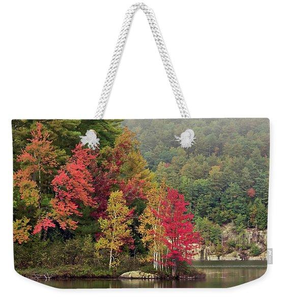 Autumn Breath Weekender Tote Bag