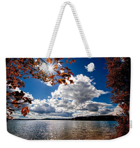 Autumn  Confidential  Weekender Tote Bag