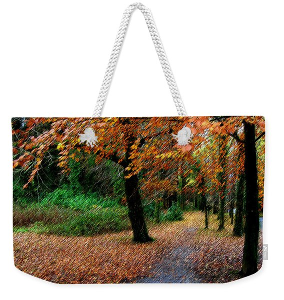 Autumn Entrance To Muckross House Killarney Weekender Tote Bag