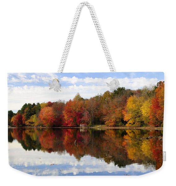 Autumn Explosion Weekender Tote Bag