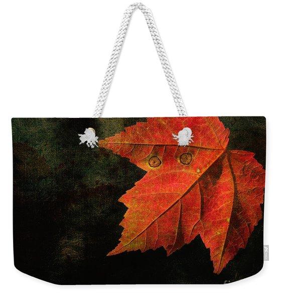 Autumn Eyes Weekender Tote Bag
