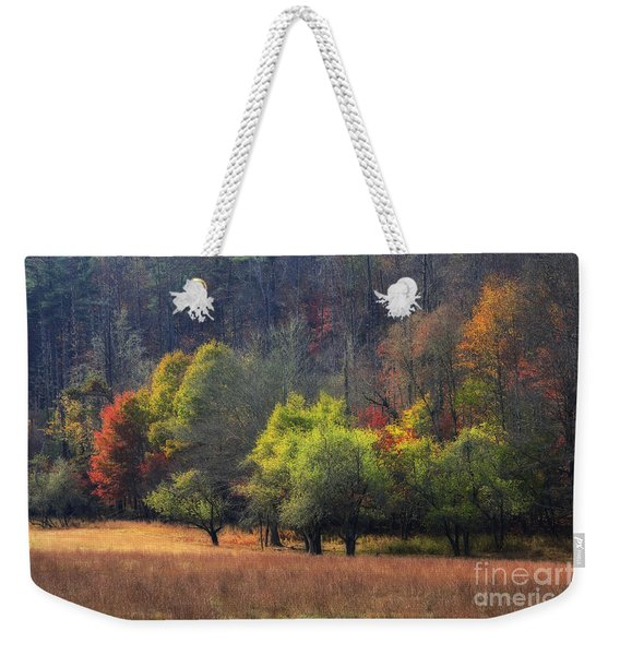 Autumn Field Weekender Tote Bag
