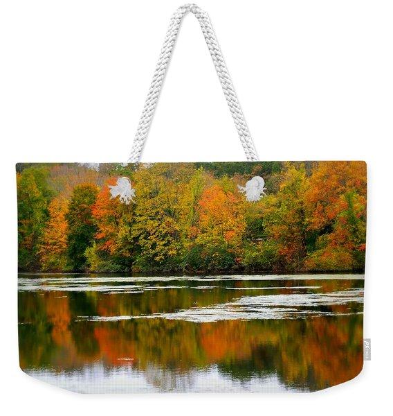 Autumn I Say Weekender Tote Bag