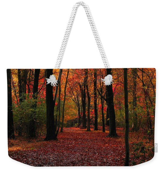 Autumn IIi Weekender Tote Bag