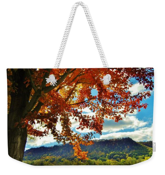 Autumn In Minnesota Weekender Tote Bag