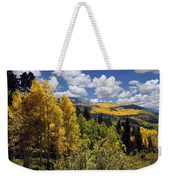Autumn In New Mexico Weekender Tote Bag