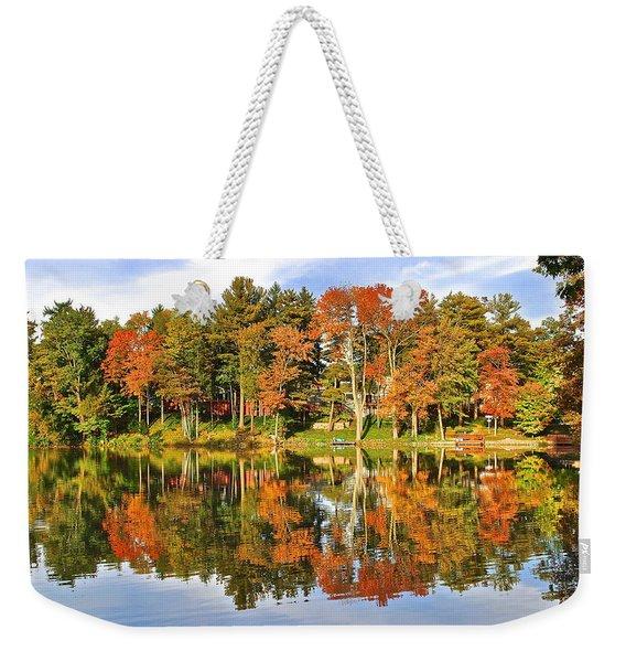 Autumn In Ohio Weekender Tote Bag