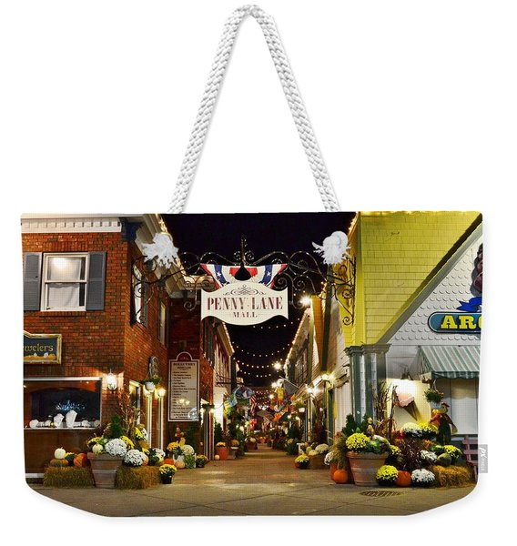 Autumn In Penny Lane - Rehoboth Beach Delaware Weekender Tote Bag