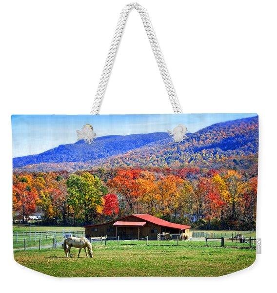 Autumn In Rural Virginia  Weekender Tote Bag
