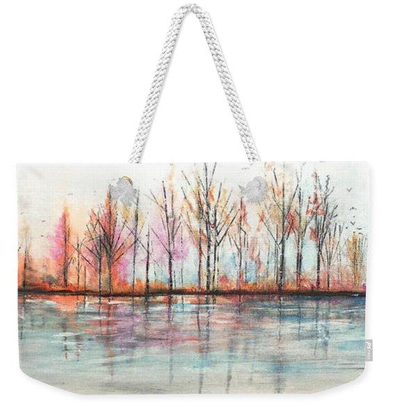 Autumn In The Hamptons Weekender Tote Bag