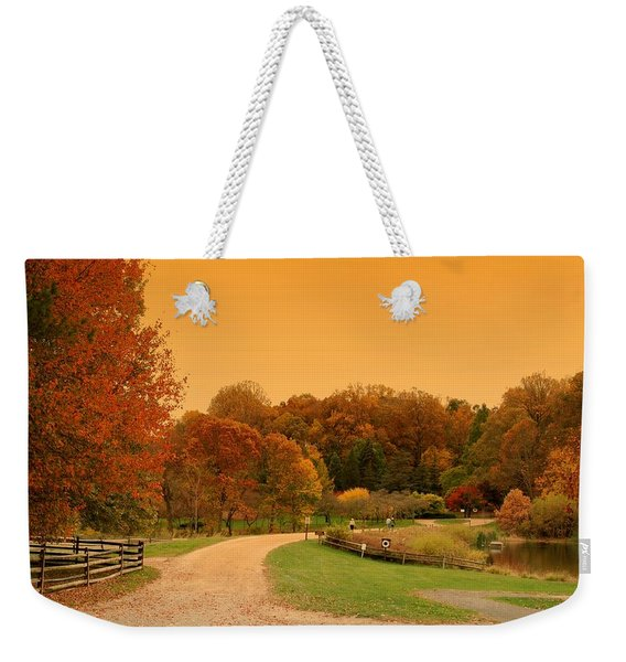 Autumn In The Park - Holmdel Park Weekender Tote Bag