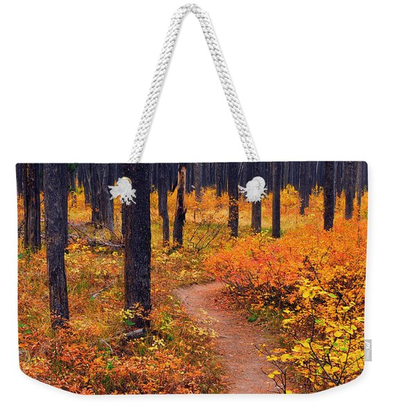 Autumn In Yellowstone Weekender Tote Bag
