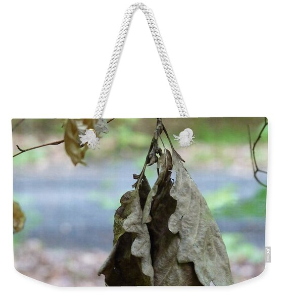 Autumn Leaves In Summer Weekender Tote Bag