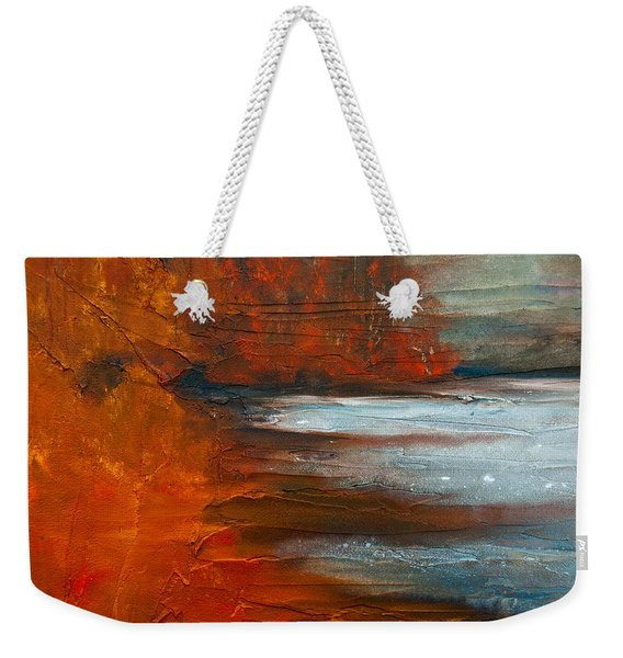 Autumn On The Sound Weekender Tote Bag