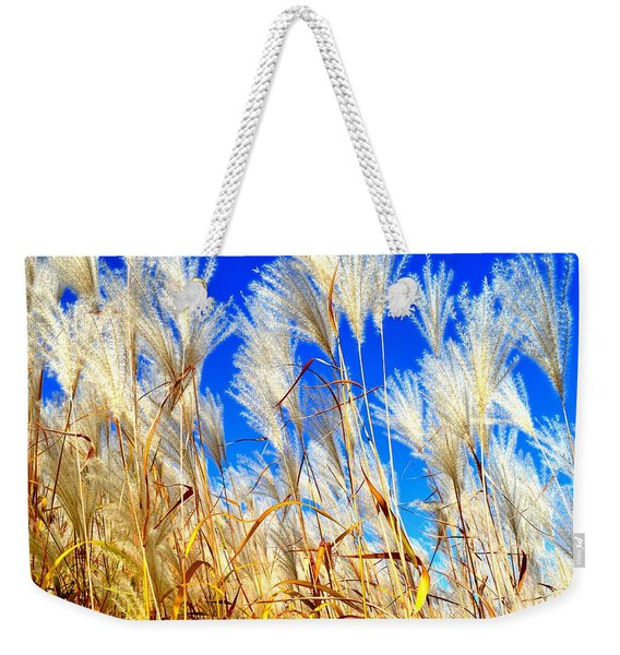 Autumn Pampas Weekender Tote Bag