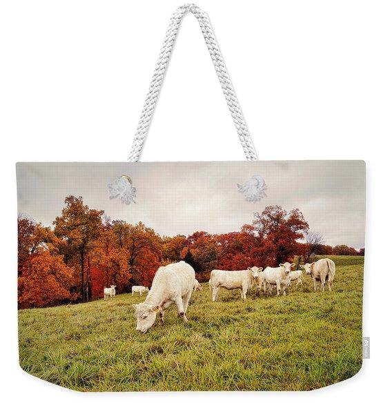 Autumn Pastures Weekender Tote Bag