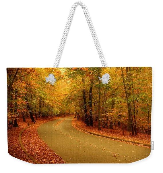 Autumn Serenity - Holmdel Park  Weekender Tote Bag