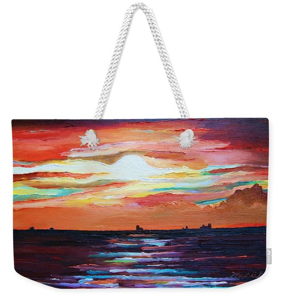 Autumn Sunset On The Baltic Sea Weekender Tote Bag