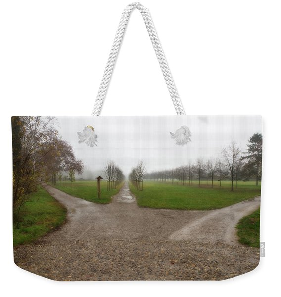 Autumnal Countryscape Weekender Tote Bag