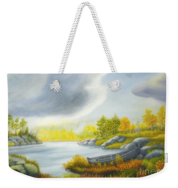 Autumnal Landscape Weekender Tote Bag