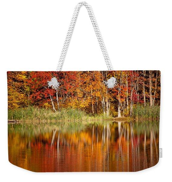 Autumns True Colors Weekender Tote Bag