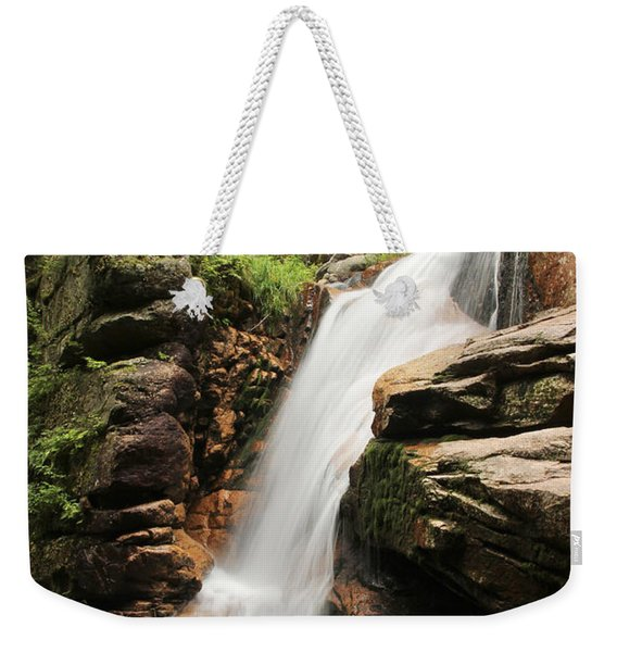 Weekender Tote Bag featuring the photograph Avalanche Falls by Jemmy Archer