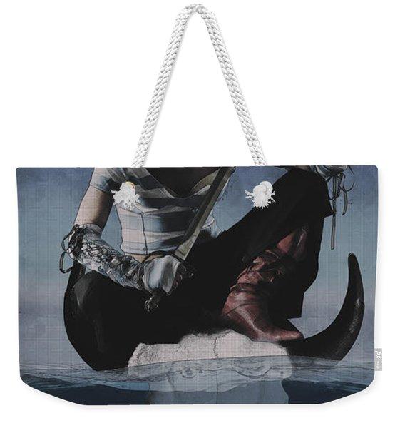 Avast Ye Pirate Weekender Tote Bag
