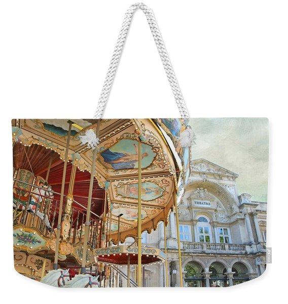 Avignon Carousel Weekender Tote Bag