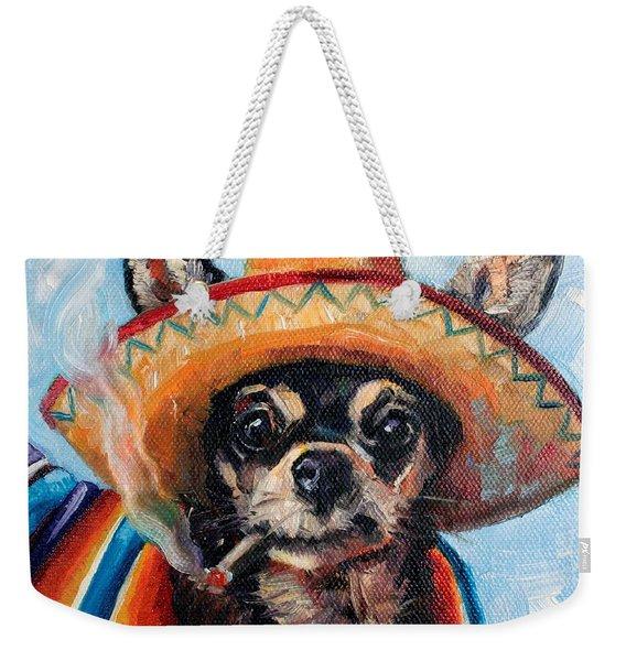 Ay Chihuahua Weekender Tote Bag