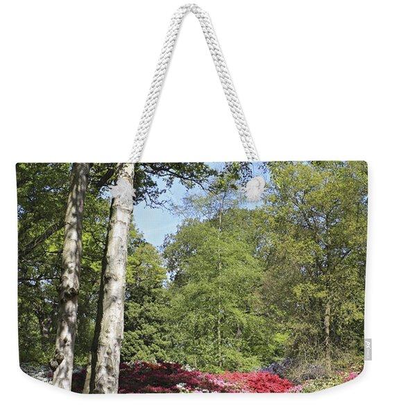 Azalea Flowers Weekender Tote Bag