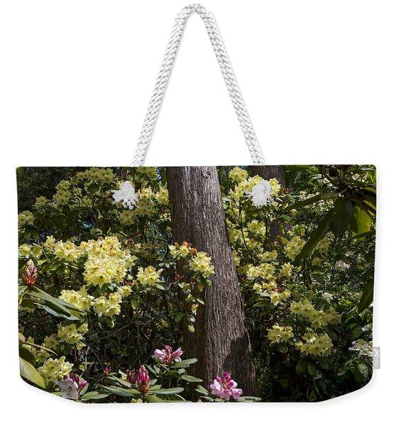 Azalea Graden Weekender Tote Bag
