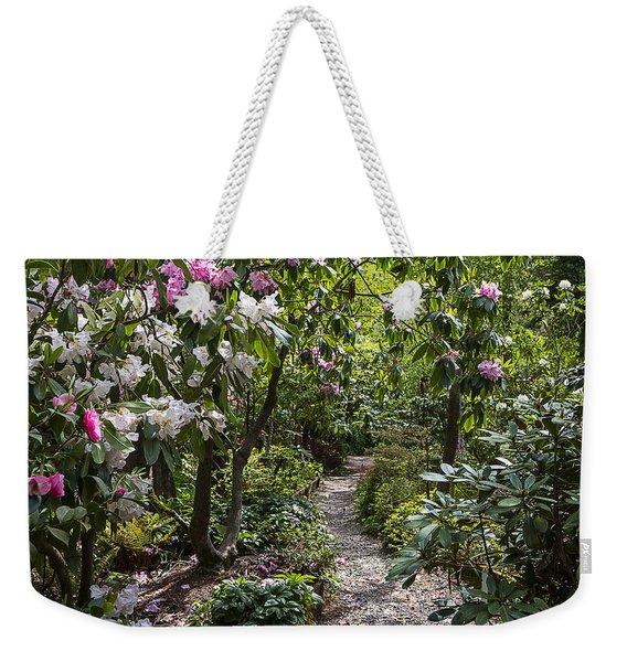 Azalea Pathway Weekender Tote Bag