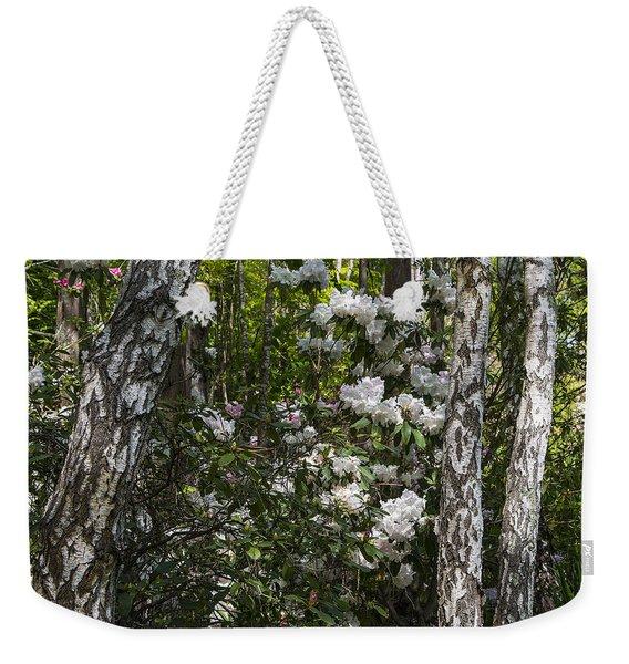 Azaleas In The Trees Weekender Tote Bag