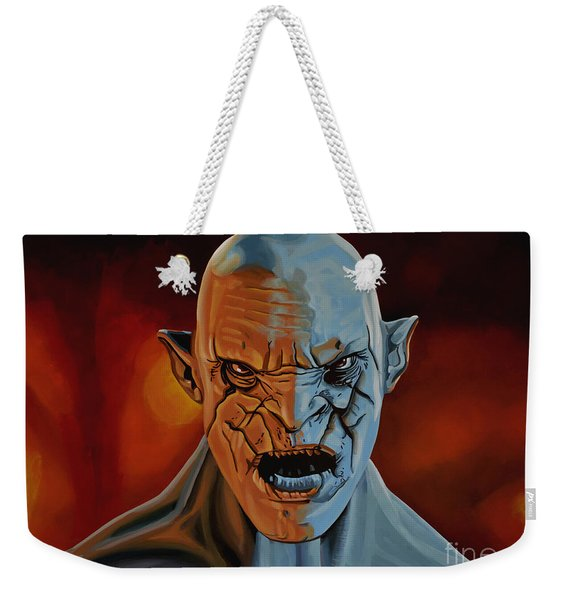 Azog The Orc Painting Weekender Tote Bag