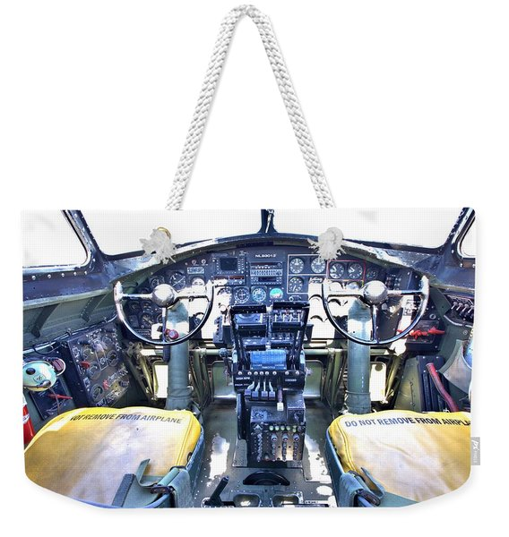 B-17 Front Office Weekender Tote Bag