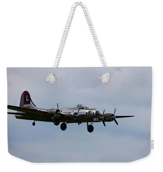 B-17 Yankee Lady Weekender Tote Bag