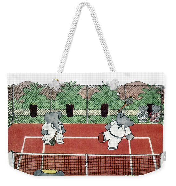 Babar The Elephant, 1930s Weekender Tote Bag