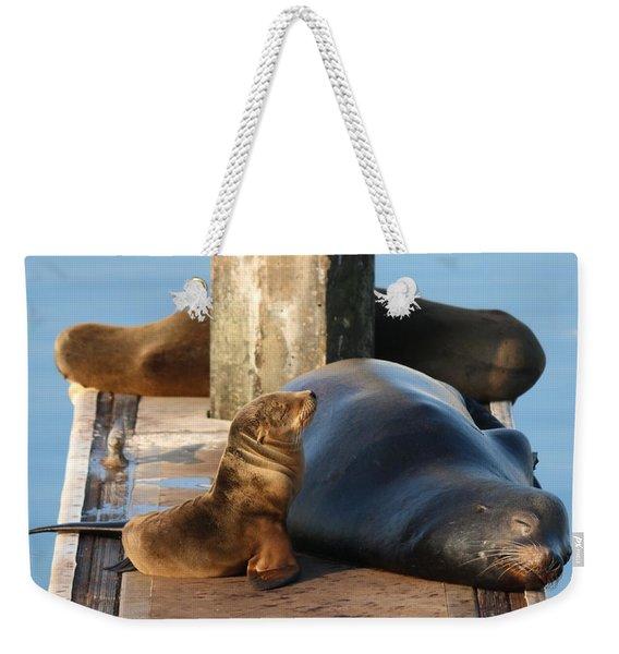 Baby And Me  Weekender Tote Bag