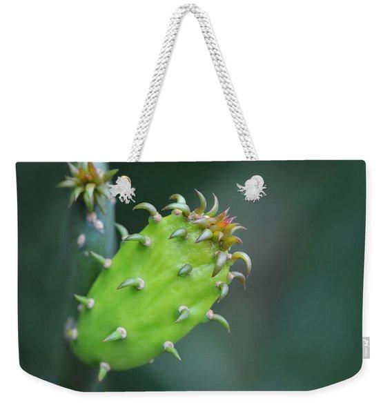 Baby Cactus - Macro Photography By Sharon Cummings Weekender Tote Bag