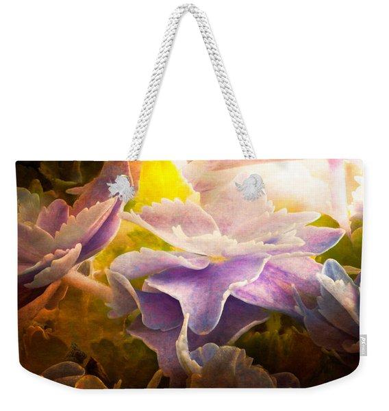 Baby Hydrangeas Weekender Tote Bag